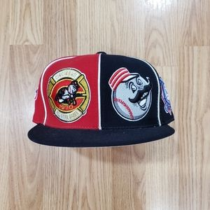 Cincinnati Reds Mitchell and Ness All Star Fitted